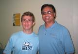 Claudio e Sridhar Reddy